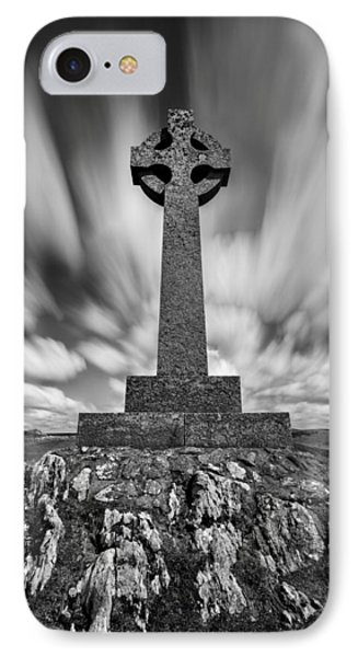 Celtic Cross IPhone Case by Dave Bowman