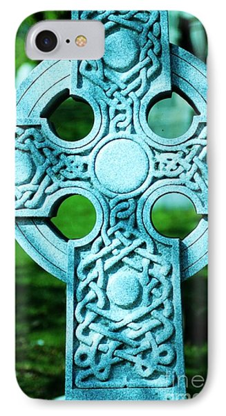 Celtic Cross Phone Case by Kathleen Struckle