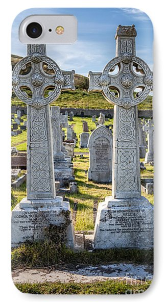 Celtic Crosses IPhone Case by Adrian Evans