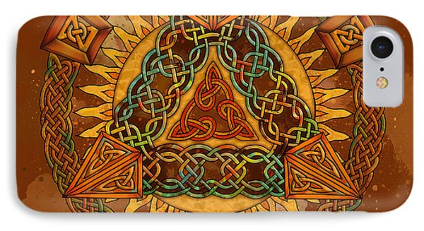 Celtic Pyramid Mandala IPhone Case