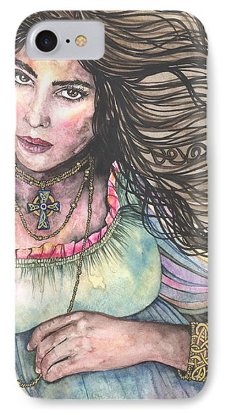 Celtic Queen Phone Case by Kim Whitton