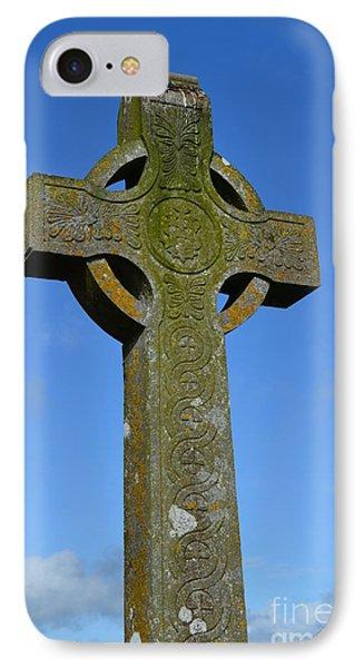 Celtic Stone Cross In Ireland IPhone Case