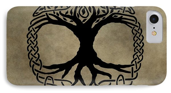 Celtic Tree Of Life IPhone Case by Dan Sproul