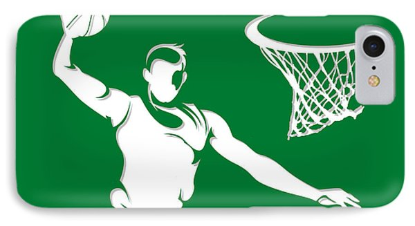 Celtics Shadow Player1 IPhone Case
