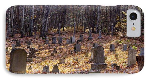 Cemetery 1 IPhone Case