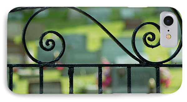 Cemetery Gate IPhone Case by Amy Cicconi
