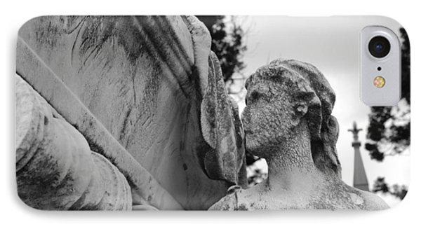 Cemetery Gentlewoman Phone Case by Jennifer Ancker