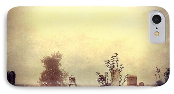 Cemetery In The Fog IPhone Case