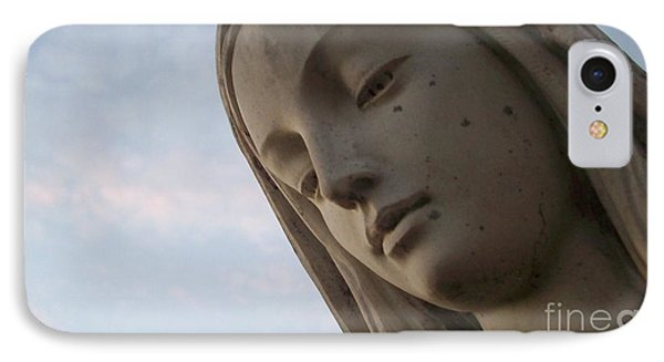 IPhone Case featuring the photograph Cemetery Statue by Justin Moore
