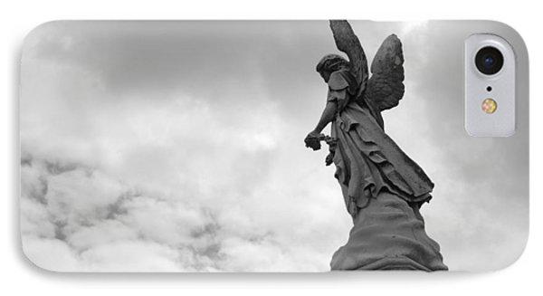 Cemetery Watcher IPhone Case by Jennifer Ancker