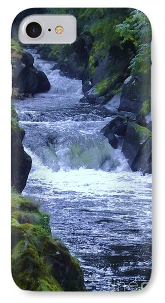 IPhone Case featuring the photograph Cenarth Falls by John Williams