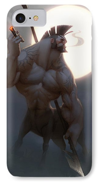 Centaur IPhone Case by Adam Ford