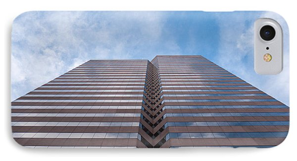 Center At 600 Vine IPhone Case by Rob Amend
