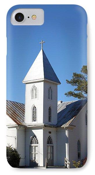 Center Hill United Methodist Church Phone Case by Carolyn Ricks
