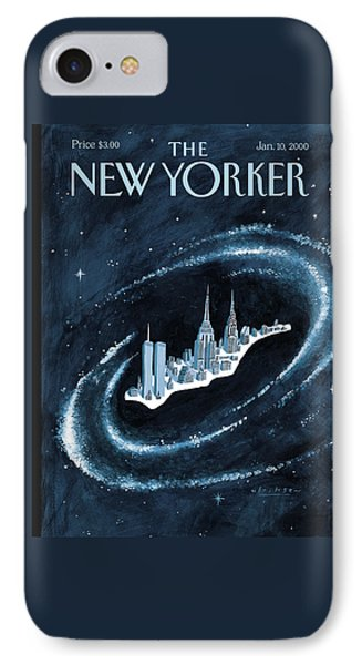 Center Of The Universe IPhone Case by Mark Ulriksen
