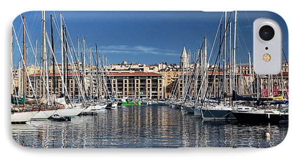 Centered In The Port Phone Case by John Rizzuto