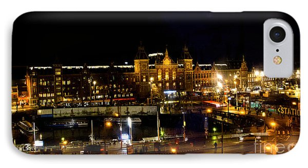 Centraal Station At Night Phone Case by Pravine Chester