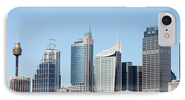 Central Business District IPhone Case by Ashley Cooper