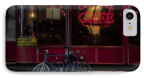 Central Cafe Bicycles IPhone Case