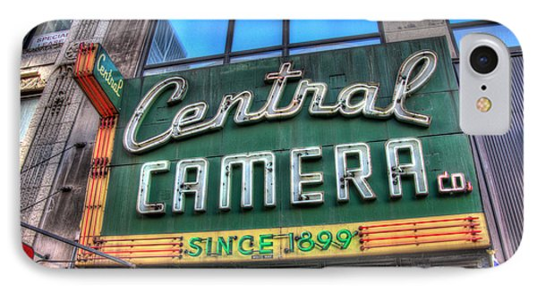 Central Camera IPhone Case by Andrew Slater