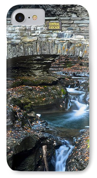 Central Cascade Phone Case by Frozen in Time Fine Art Photography