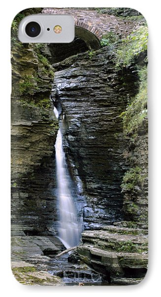 Central Cascade Waterfall IPhone Case by Gene Walls