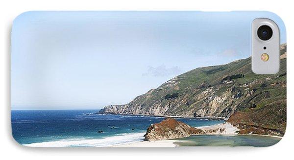Central Coast Beach Near Cambria And San Simeon Phone Case by Artist and Photographer Laura Wrede