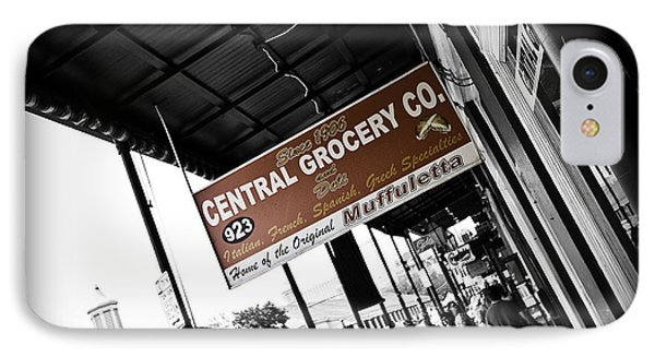 Central Grocery Phone Case by Scott Pellegrin