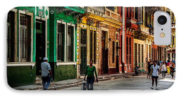 Central Havana IPhone Case by Patrick Boening