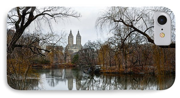 Central Park And San Remo Building In The Background IPhone 7 Case by RicardMN Photography