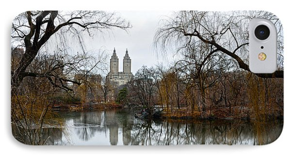 Central Park And San Remo Building In The Background IPhone Case by RicardMN Photography