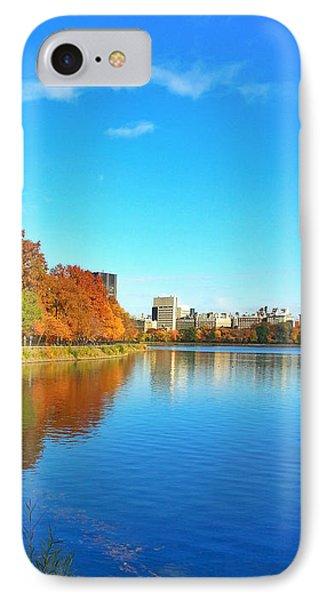 Central Park Autumn Landscape IPhone Case