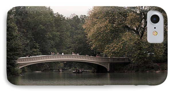 Central Park Bow Bridge Phone Case by David Bearden