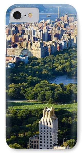 Central Park IPhone Case by Brian Jannsen