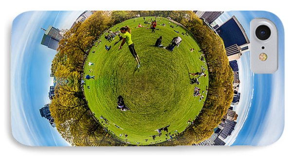 Central Park Circagraph  IPhone Case by Az Jackson