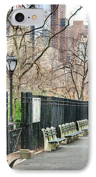 Central Park Phone Case by JC Findley