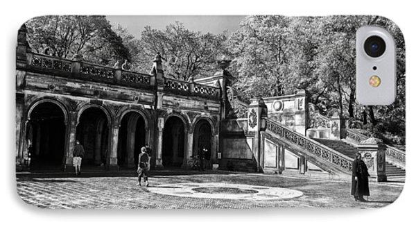 Central Park - Near Bethesda Fountain Phone Case by Madeline Ellis