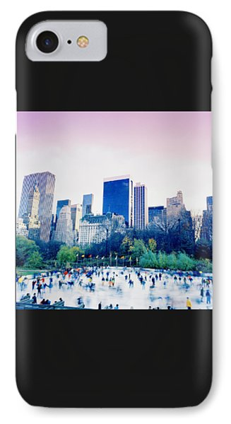New York In Motion IPhone Case by Shaun Higson