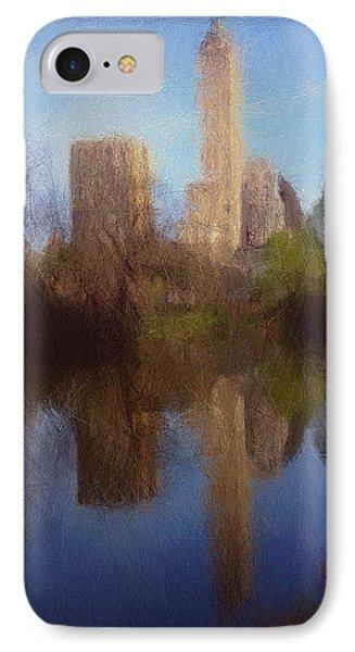 Central Park New York IPhone Case by Steve K
