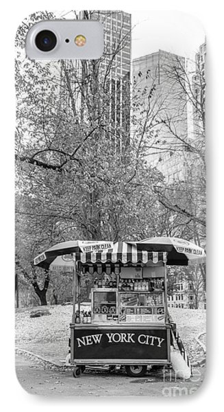 Central Park Vendor IPhone Case