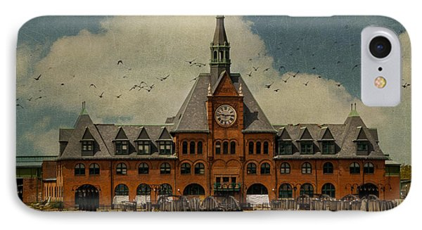 Central Railroad Of New Jersey Phone Case by Juli Scalzi