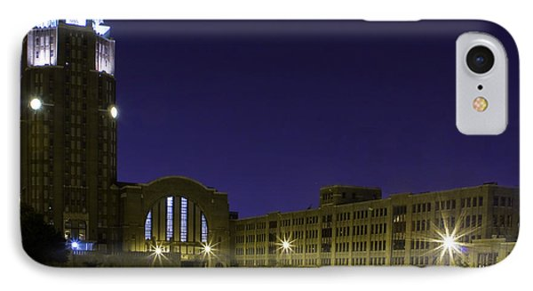 Central Terminal At Night  IPhone Case by Don Nieman