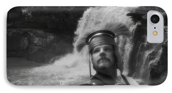 Centurion At The Falls IPhone Case