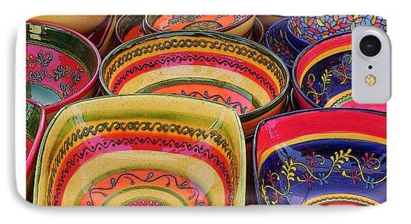 Ceramic Bowls Phone Case by Anthony Dalton