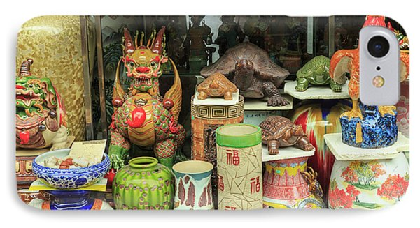 Ceramics At Storefront Near Nanfeng IPhone Case by Stuart Westmorland