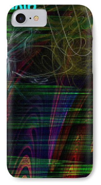 Cerebellar Ataxia Art 3 Phone Case by Sandra Pena de Ortiz