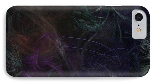 Cerebellar Ataxia Art I Phone Case by Sandra Pena de Ortiz