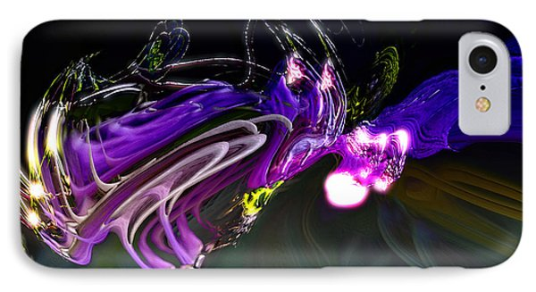 Cerebral Backlash IPhone Case by Richard Thomas
