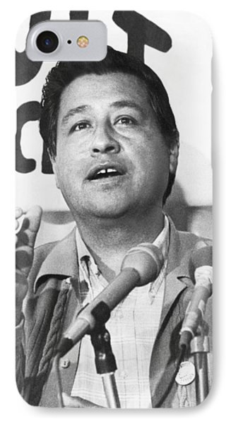 Cesar Chavez Announces Boycott IPhone 7 Case by Underwood Archives