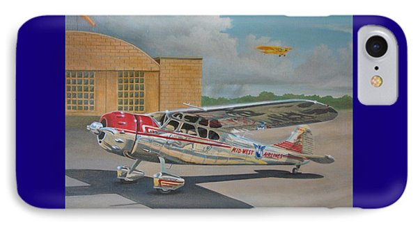 Cessna 195 IPhone Case by Stuart Swartz